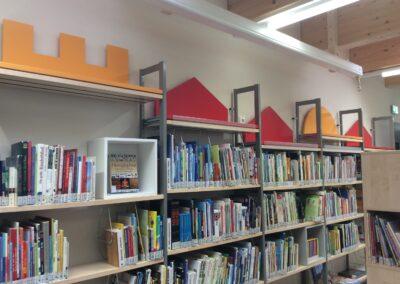 Ansicht in der Bibliothek